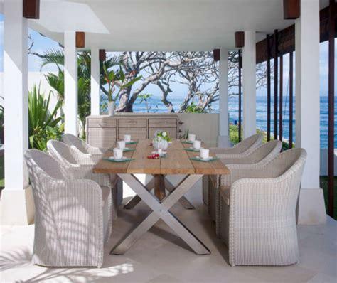 nautic teak dining table from skyline design