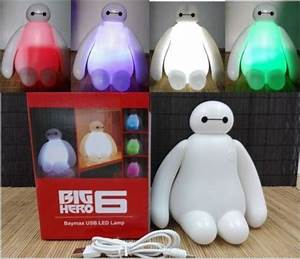 2015 new color changing big hero 6 baymax usb led table With big hero 6 table lamp