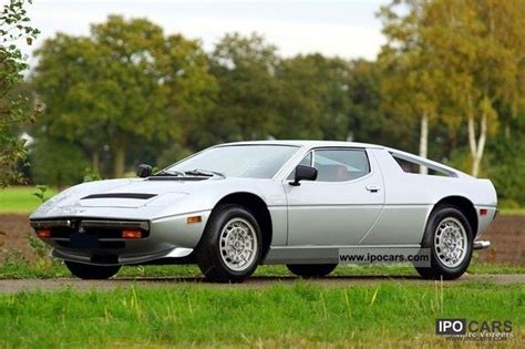 Make Maserati 1978 Merak 1978 Maserati Merak Sports Car