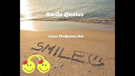 smile quotes youtube