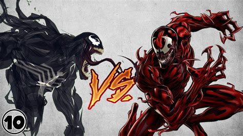 Carnage is a comic book limited series written by peter milligan with art by clayton crain published by marvel comics. Venom vs Carnage - YouTube   Carnage, Venom, Cletus kasady