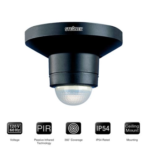 ceiling mount outdoor occupancy sensor is 360b steinel