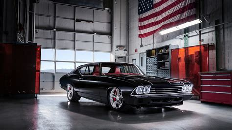 1920x1080 Chevrolet Chevelle Muscle Car Laptop Full Hd