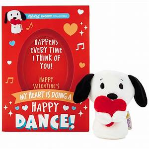itty bittys® Peanuts® Snoopy Valentine's Day Card With ...