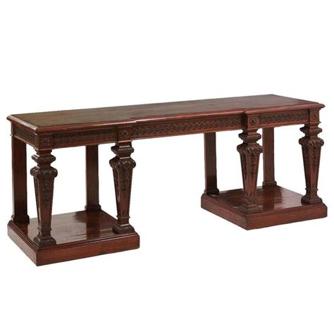 mahogany console tables sale mahogany console tables by 39 holland and son 39 for sale at