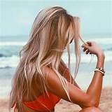 Beach blonde hairy area