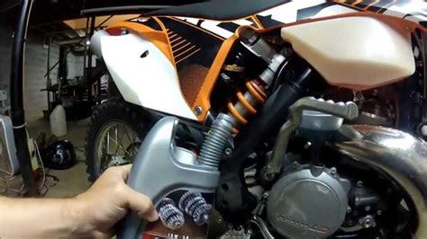 ktm gear oil change youtube