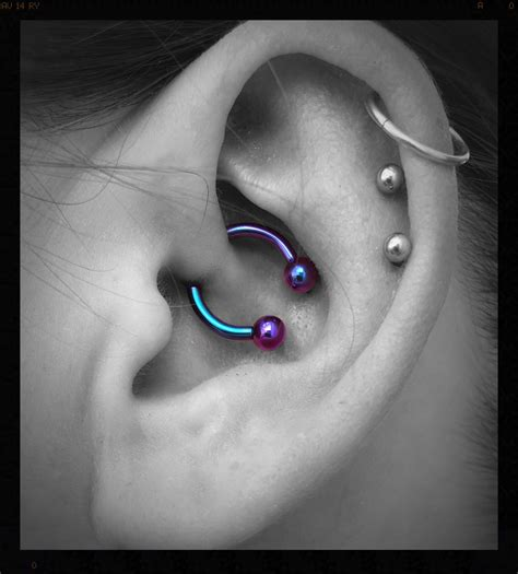 daith piercing supposedly good  migraineanxiety