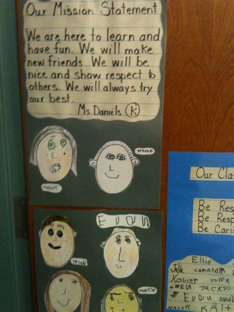 mission statements and kindergarten on 123 | 071a78ab3e1a55bbc3725d4d4cd3e058