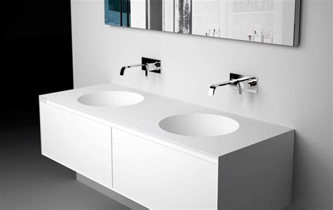 BACINO top with integrated sink   Modern   Bathroom Sinks