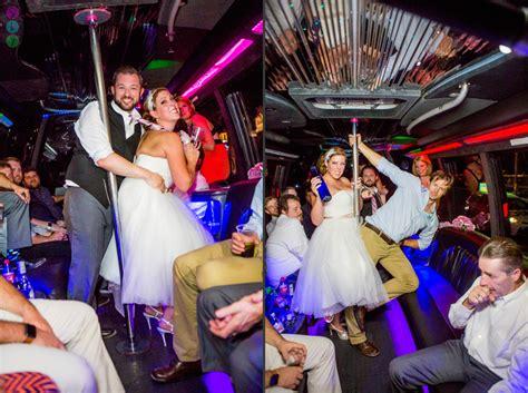 las vegas strip party bus wedding  lauren kit