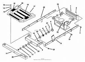 Snapper Z4802m 48 U0026quot  Deck  Mid Mount Ztr Series 2 Parts