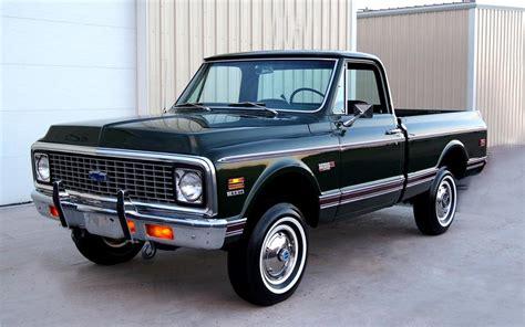1972 Chevrolet K10 4x4 Pickup 93227