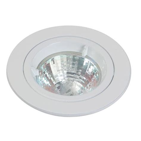 gu10 die cast ceiling spotlight fixed