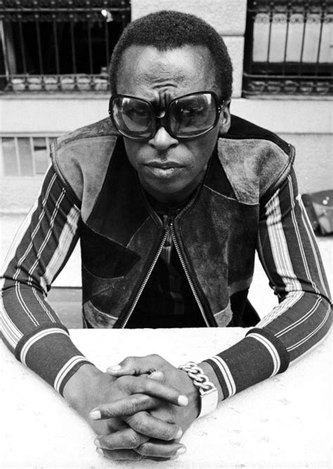 Miles Davis, Musician, Fashion Guru And Soontobe Movie