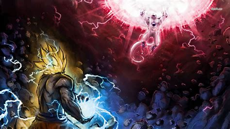 Dragon Ball Z Goku Vs Frieza Wallpaper  Best Cool