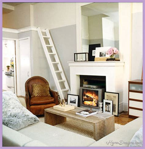 Kitchen Fireplace Ideas - small space design ideas living rooms 1homedesigns com