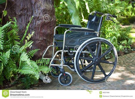 fauteuil roulant en nature photo stock image 48221968