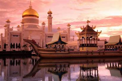 Brunei Borneo Darussalam Sultanate Capital Bandar Begawan