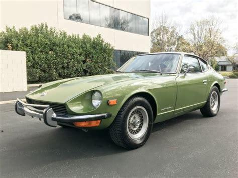 Datsun 240z For Sale California by 1973 Datsun 240z Rust Free California Car For Sale