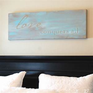 Easy diy wall art tutorial inspirational quote painted canvas