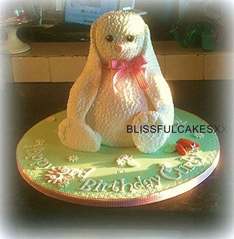 rabbit - cake by BARBARA CORBETT - CakesDecor