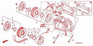 Air Conditioner  Compressor  For Honda Cars Cr