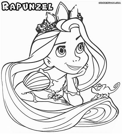 Rapunzel Coloring Colorings Dreams