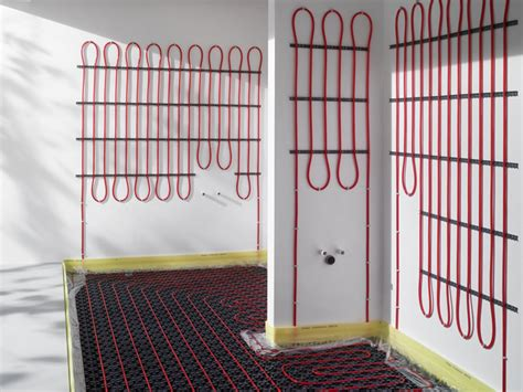 Heizung Für Garage Selber Bauen by Fl 228 Chenheizung Wohlf 252 Hlw 228 Rme Wand Und Boden Bauen De