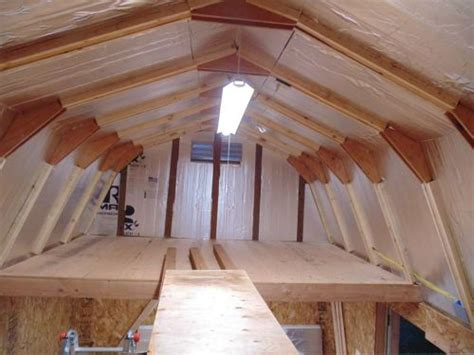 shed with loft building a shed loft made easy