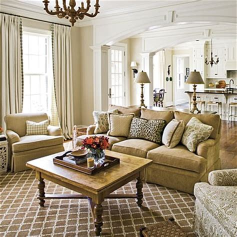 southern living family room photos i am moving into a new construction home and need to