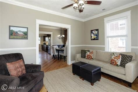 Chair Rail Ideas For Living Room; Smileydotus