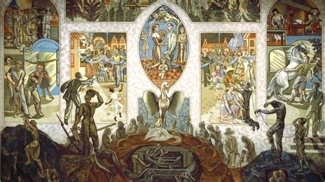 The Mural In The Un Security Council Chamber Created By