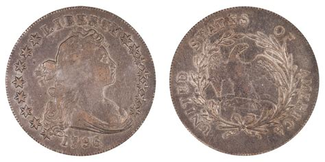 1796 Draped Bust Dollar - 1796 draped bust silver dollar small date small letters