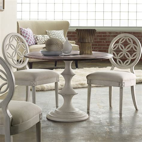 white wood round dining table melange brynlee wood round dining table in walnut white