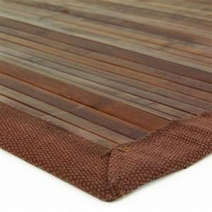 tapis en bambou pas cher de 4eur a 89eur monbeautapiscom With tapis en bambou pas cher