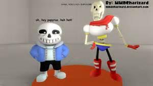Undertale Sans Papyrus and SFM