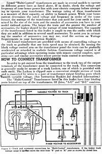 Lionel 1033 Wiring Diagram