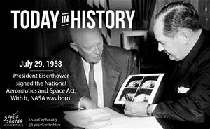 Today #otd in 1958 president eisenhower signed the act ...