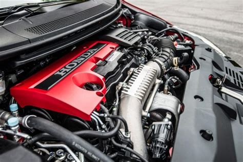 Civic Type R Engine by 2018 Honda Civic Type R Aggressive Prototype At