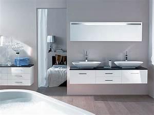 Meuble Salle De Bain Moderne : malrieu meubles de salle de bains ~ Nature-et-papiers.com Idées de Décoration