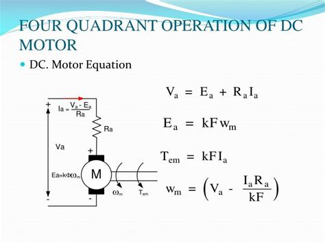 4 Quadrant Operation Of Dc Motor Impremedianet