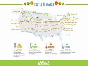 Driving cross country: road trip routes | U-Pack