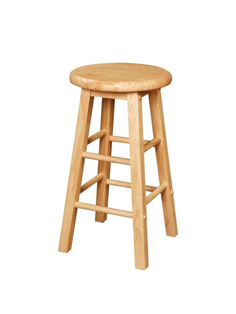 Powell Color Story Natural Kitchen Stool Pw931430 At