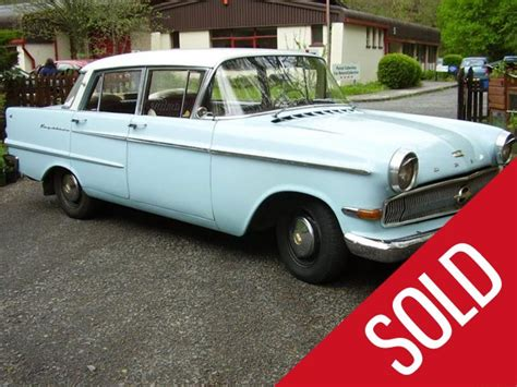 Opel Cars For Sale by 1962 Opel Kapitan For Sale Classic Cars For Sale Uk