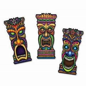 Tiki Cutouts Decoration - Caufields com