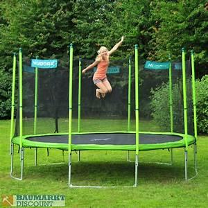 Trampolin Netz 366 : hudora family trampolin 400 cm mit netz und leiter ~ Whattoseeinmadrid.com Haus und Dekorationen