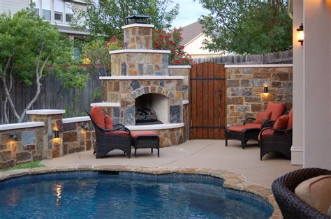 patio cover outdoor fireplace outdoor living