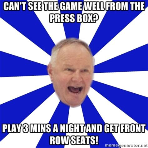 Dion Phaneuf Meme - the crimes of randy carlyle five minutes for fighting