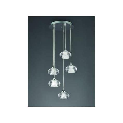 franklite tizzy 5 light halogen ceiling pendant in